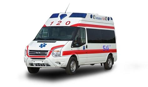 白鸟牌5G+负压救护车